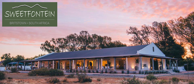 SWEETFONTEIN BOUTIQUE FARM LODGE, BRITSTOWN (20km)