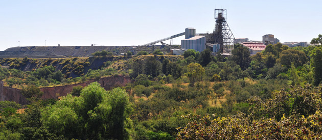 Kimberley, in the Northern Cape Province of South Africa