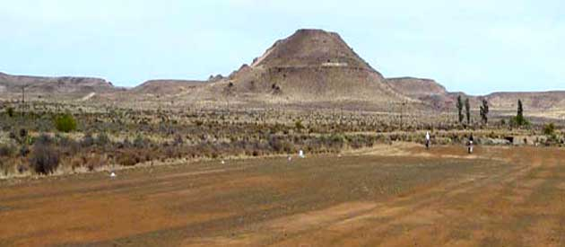 Carnarvon, in the Northern Cape, South Africa