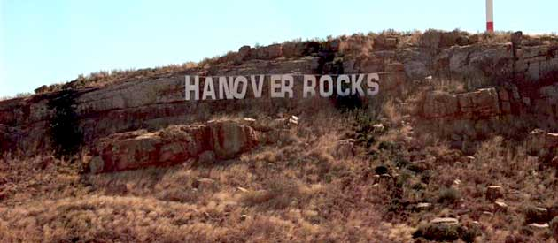 Hanover, in the Northern Cape province of South Africa
