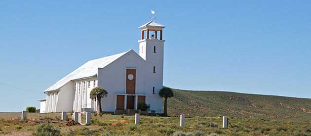 Loeriesfontein, in the Northern Cape province of South Africa